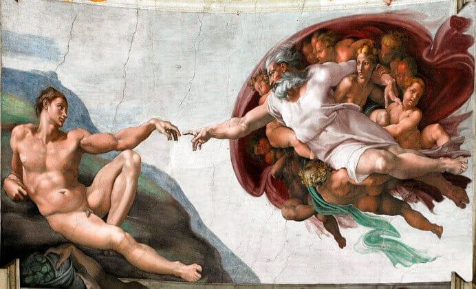 creación del hombre